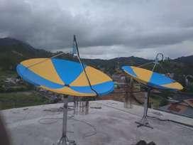 Spesialis Instalasi Perangkat parabola TV kabel Untuk Hotel dan Kost