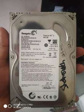 seagate 500gb hard disk in good condition in mumbai navi mumbai