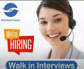 Need employees for call Centre job