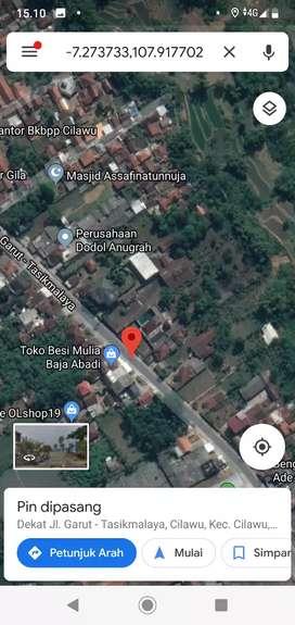 Jual tanah dan rumah LT 5275 m² SHM