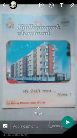 3bhk flat in front facing with balcony in VIP area