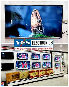 Yes Electronics TV showroom big offer's with warranty wholesale