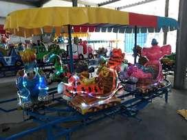 odong kereta panggung animal DCN wahana pasar malam kereta mini