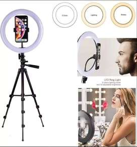 26cm/20cm Ring light with 7 feet stand. / Ringlight.