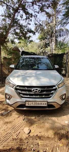 Hyundai creta automatic Diesel 2016 sx plus