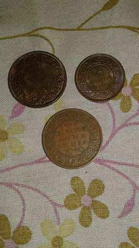 6 old  antique  coins for  sale  .It's  100  %genuine.