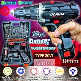Mesin  bor baterai uchiha japan, 10mm type20vf