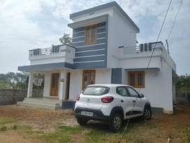 thrissur pottur 5 cent 3 bhk villa