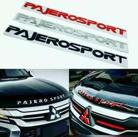 Emblem Kap Mesin Pajero Sport