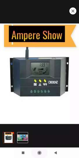 CM3024Z Solar charge control, 12v /24v auto, 30 Amp.  Can show Ampere