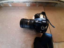 Nikon D 7000 with Nikon 18 -200 lens