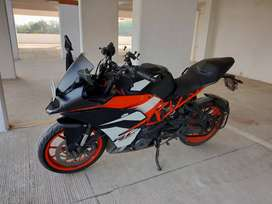 KTM RC 390 (2019 model) in prime condition for sale
