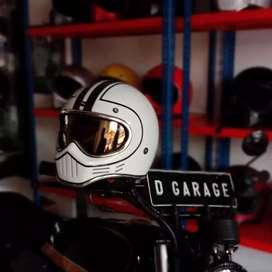 Helm CAKIL Cocok utk Motor Japstyle Caferacer  bratstyle Vespa