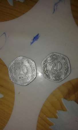 Two old coin