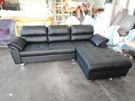 Sofa L minimalis dacron full