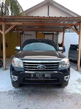 Jual Cepat Ford Everest XLT Manual 2012 Hitam Kepemilikan Pribadi