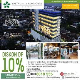 Apartemen dan Condotel Eksotis View di Lampung