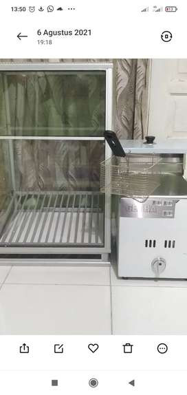 Penggorengan/Gas Fryer/deep fryer/wajan penggorengan dalam.
