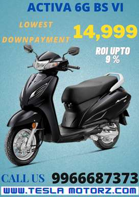 HONDA ACTIVA  6G BS VI IN LOWEST DOWNPAYMENT