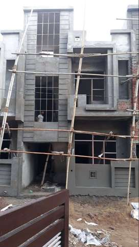 amazing duplex cornered villa loanavailable- Under construction,Niwaru