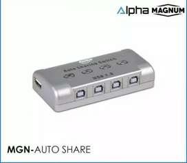 Auto Switch Sharing Printer 4 port magnum kualitas bagus