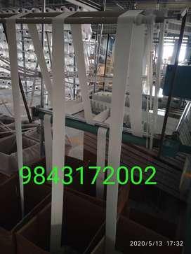 Inner elastic machine operator & label printing