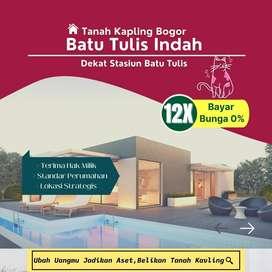 Bogor selatan Dekat Stasiun Batutulis,Siap SHM Pasti