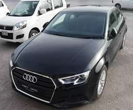 Audi A3 2018 available for rent