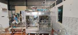 mineral water auto filling machine