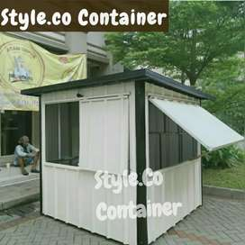 BOOTH SEMI CONTAINER | CONTAINER USAHA KULINER | CONTAINER FOODCOURT