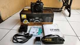 Nikon D7100 BO(Body Only) fullbox mantab
