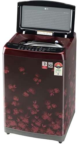 LG Top load fuly automatic wit jet spray n heat dryer.