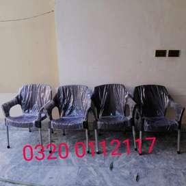 6 chairs 1 table set PURO brand home delivery