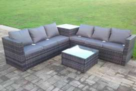 Sofa set with table and sitey
