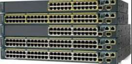 CISCO SWITCH AND ROUTERS