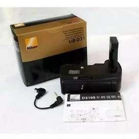 Baterai nikon MB-D31 for D3100 D3200 D3300