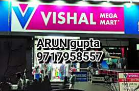 Supervisar HIRING in SHOPPING mall