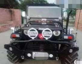Modified open classic jeep