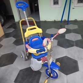 Sepeda roda 3 merk family