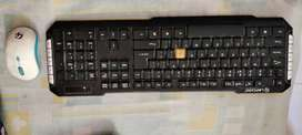 Combo-keyboard and Mouse