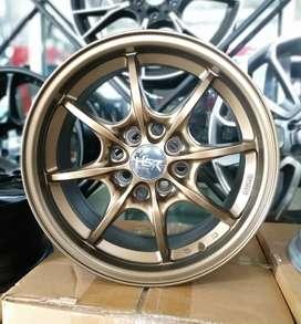 Velg racing HSR Ring 15 Buat mobil Brio, agya, Sigra, Karimun, Datsun
