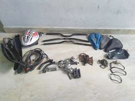 All Bicycle Accessories for Sell & New Look Btwin Geal Seat Good Condn