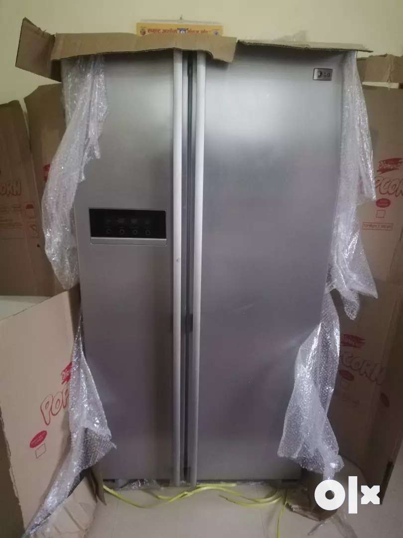 LG 600 ltr double door refrigerator 0