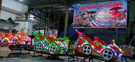 kereta rel bawah lantai mini roller coaster odong BARU wahana mainan 1