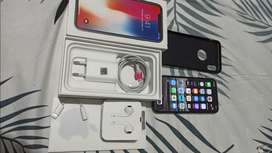 Iphone X 64 Gb Lengkap PA/A Indonesia