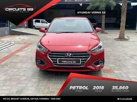 Hyundai Verna, 2018, Petrol