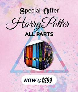 Harry potter bookset. Free delivery