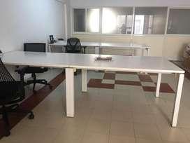 Herman miller workstation table