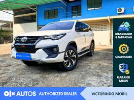 [OLXAutos] Toyota Fortuner 2018 2.4 VRZ TRD A/T Putih #Victorindo