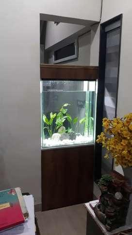 Fish tank making